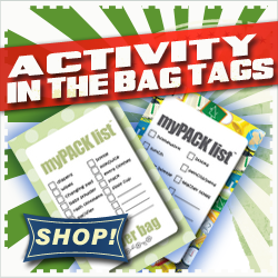 Activity Bag Tags - In The Bag Tags