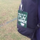 Soccer Bag Tag for kids with Checklist from Ih The Bag Sports